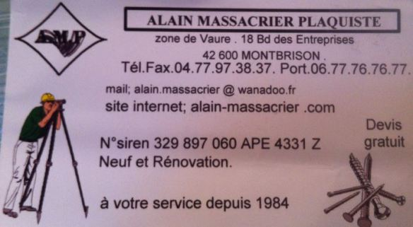 Massacrier plaquiste